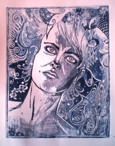 Etching I made in 2010.
