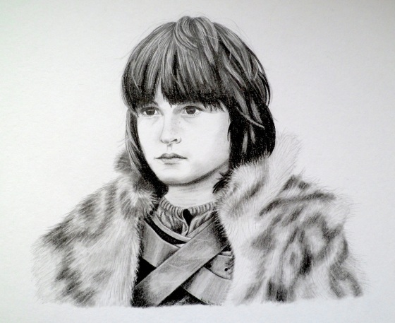 Little Bran from Game of Thrones by Emmi Visser