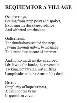 Greg poem