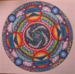 Mandala by Emmi Visser