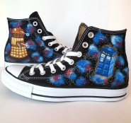 Doctor Who Converse design by Emmi Visser 2