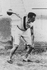 Robert Garrett in 1896