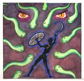 Perseus Medusa by Emmi Visser