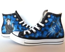 Doctor Who Converse design by Emmi Visser