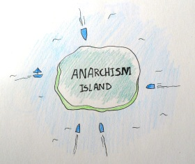 Anarchy Island by Emmi Visser