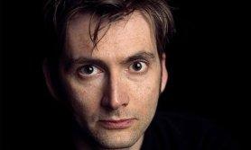 David Tennant's odd-shaped eyes
