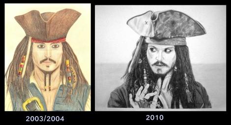 Jack Sparrow 2x