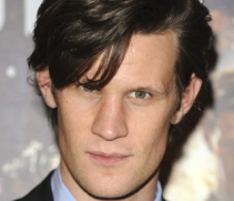 Matt Smith sans eyebrows